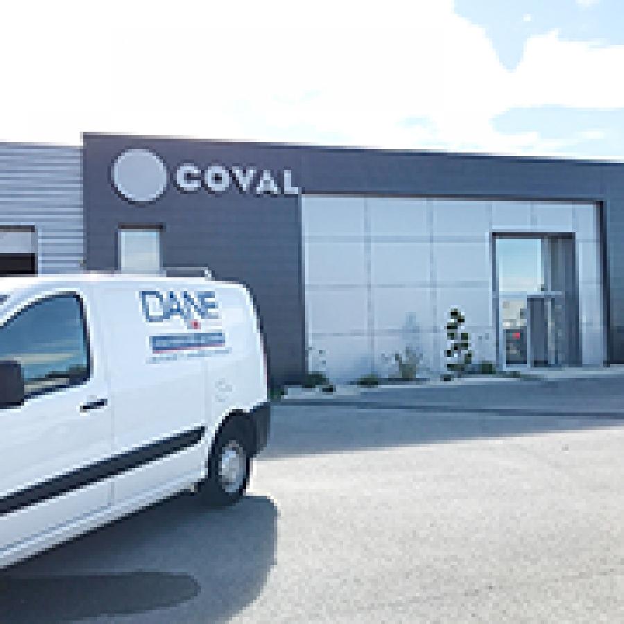 Nettoyage post chantier chez COVAL (26)